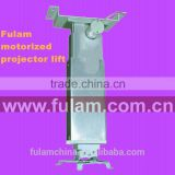 CE Electric aluminum projector lift bamboo type bracket