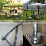 China Metal/aluminium Banana patio umbrella                                                                         Quality Choice