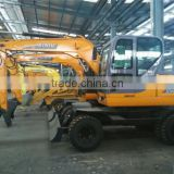 wheel excavator digger XN80-9 manufacturer factory agent prices