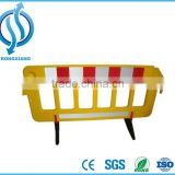 Temporary Portable Plastic Barrier/ Pedestrian Fence Barrier / plastic safety fence for Road Safety