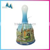 Hot sale product custom ceramic tourist souvenir dinner table bell                                                                         Quality Choice