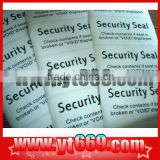 Hot selling custom heat resistant sticker paper