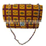 made in china products African wax print fabric handbags for women