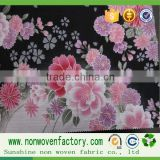 Hot china products wholesale non-woven fabric of printing material for wall paper,house decoration