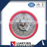 World clock for teaching instrument