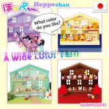 Original Hoppechan toy house set with mini sofa bed in variety of colors