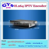 2016 hot sell iptv h.264 encoder ip streamer video encoder with 4 input