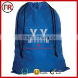 Custom logo plastic drawstring backpack bag For promotion
