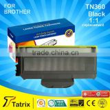 Black Compatible Toner Cartridge TN360 for Brother Laser Printer