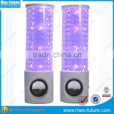 USB powered computer speakers professional led sound activated with LED flashing light(F-1211A)