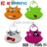 New Design for Newborn Cartoon Waterproof Baby Bibs Kids Aprons