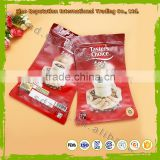 Hot selling aluminum foil stand up coffee packaging pouch with zipper top in best quality