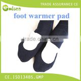 CE/ISO factory direct sell foot heat pad charcoal air-activated disposable heat patch body warmer heating therapy pad