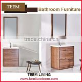 2016 new design solid wood north American style moden vanity european style bathroom cabinet combo