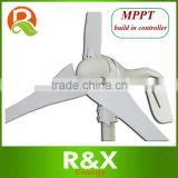 Wind Turbine Generator 600W Max With MPPT Build In Controller, 12V/24V Auto Distinguish , Used For Land /Marine.