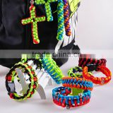 Wholesale High Quality Cross Paracord Useful Survival Tool
