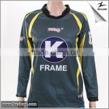 Sublimation printed goalkeeper soccer jersey for women