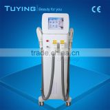 Factory price two handles Elight hair removal machine Ipl hair removal Skin rejuvenation RF machine