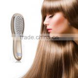 CE,RoHS certified Beauty device Electric hair growth comb with massage led color light treatment OEM factory