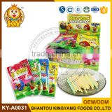 Cartoon Bird Mix Fruity CC Stick Candy With Tattoo