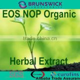 Organic Ginkgo Biloba Extract Powder,NOP EOS Organic,100% ID,Non-Irradiation,Low Contaminants of Aflatoxin,PAHs,Heavy Metal