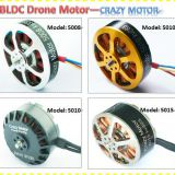 Best selling helicopter brushless motor crazy-motor 5015 with 50mm stator used for Racing drones and agriculture drone a