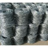 12 x 14 gauge 15kg/roll HDG Double Strand Galvanized Barbed Wire