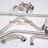 MERTOP RACE Full Exhaust system for Renault 5GT manifold+Downpipe+cross over pipe+Catback