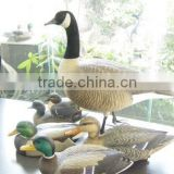 wholesale canada goose decoy for hunting, garden decorative goose mold,snow goose.floating decoys.