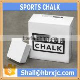magnesium carbonate pure grade gym block chalk for sports
