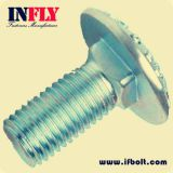 A Carriage bolt DIN603 Round head square neck bolts-Infly Fasteners factory