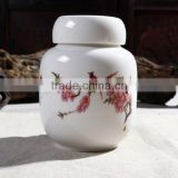 Chinese porcelain Pet Ceramic urn wholesale for cremation