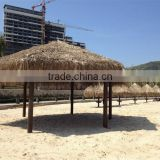 Outdoor Artificial Rattan Plastic Synthetic Thatch Roof Material