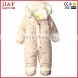 Baby rompers baby winter snowsuit fleece jumpsuit cartoon animal infant coveralls newborn boy girl clothes