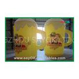 Outdoor Custom Inflatable Products Giant Inflatable Cup For Advertising