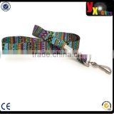 Festival Tribal Stripe - Soft Printed ID Neck Lanyard