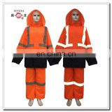 mining safety rubber rain wear for adult