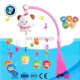 High Quality Baby Plastic Bass Box Bell Rattle Toy Educational Kids Music Crib Mobile Bed Bell