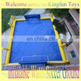 New design inflatable water foosball field/football playground