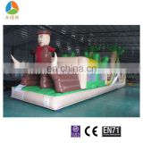 Kids Inflatable floating obstacle course