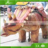 Kids ride on walking dinosaur jurassic game dinosaur for sale