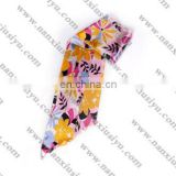 Ladies' fashion floral printted accessories for pants' belt
