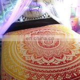 Queen Ombre Mandala Duvet Cover Indian Doona Cover Decorative Cotton Quilt Cover