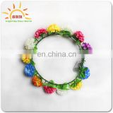 fashion design led flower crown suit for adults' head