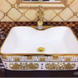 Square New Style Wash Basin Luxury Hotel Bathroom Basin​