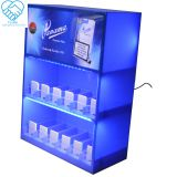 New Display Cardboard Cigarette Counter Display Box With Pegs strong pusher