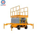 2 Ton Double Cylinders Motor Internal Hydraulic Scissor Lift Table Platform For Wheelchair