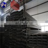 Hot Rolled Square Steel Pipe carbon steel for oil and water black square pipe in Tianjin with CE certificate