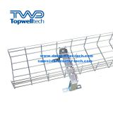 Punching Wire Basket Cable Tray 300mm