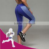 Nude Blue Women Plus Size Sports Pants Custom Leggings
